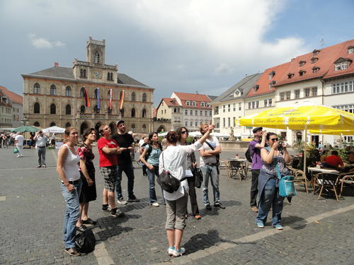 Guided tour through Weimar
