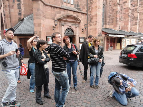 Guided tour through Heidelberg