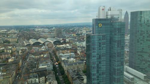 Great view over Frankfurt