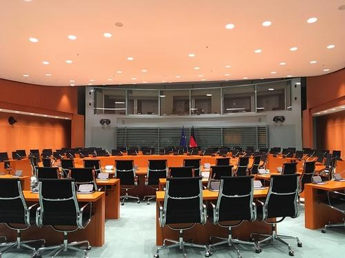March 07, 2018- visiting the Federal Chancellery