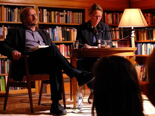 November 25, 2015 - Book reading of Renate Zöller