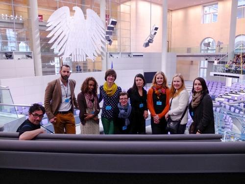 October 19, 2015 - Visiting the German Bundestag