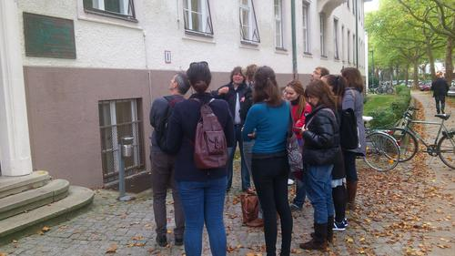 Oktober 13 2014 - Guided Campus Tour