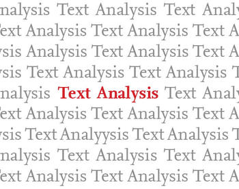 Workshop Text Analysis