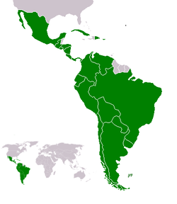 Latin America, Image Credit: Wikimedia Commons