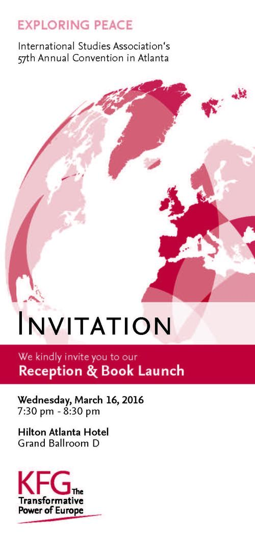 Program KFG Reception & Book Launch