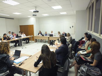 Roundtable at the Instituto de Relações Internacionales