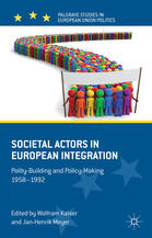 Societal Actors in European Integration