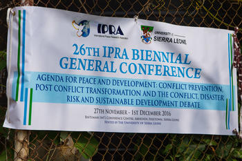 26th IPRA General Conference on 'Agenda for Peace and Development' (Bild: Daniel F. Lorenz)