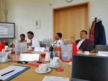 2) Indian project partners in Berlin