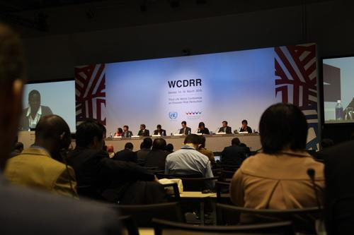 Beitrag WCDRR Working Session zu Communities Addressing Local Risks