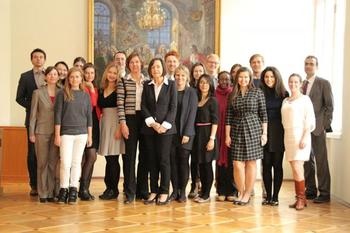 Group picture with Prof. Dr. Wintermantel, President of DAAD (German Academic Exchange Service)