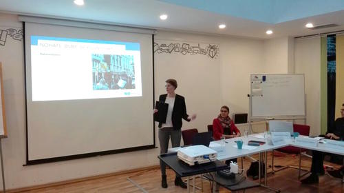 Sünje Paasch-Colberg presents the project