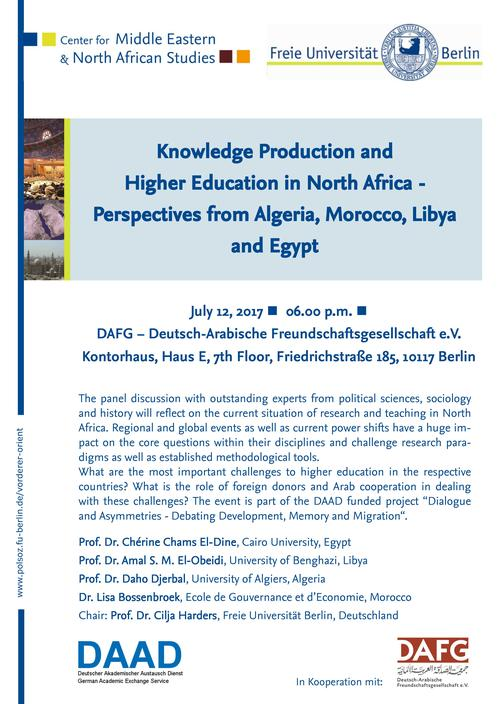 Bild: Knowledge Production in North Africa