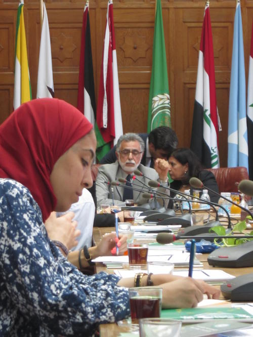 Excursion to the Headquarter of the Arab League